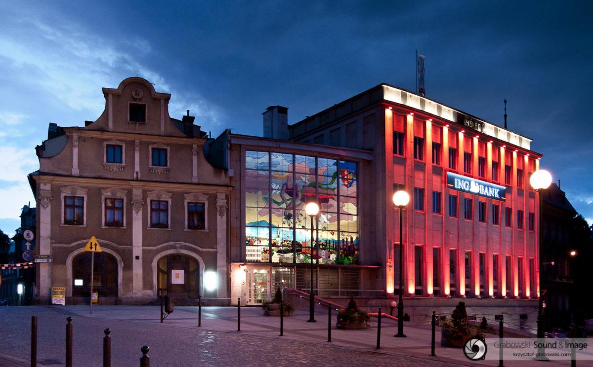 3-001; Bielsko-Biała, Plac Chrobrego (fot. KGrabowski)