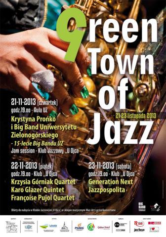 Moje zdjęcie na plakacie Green Town of Jazz