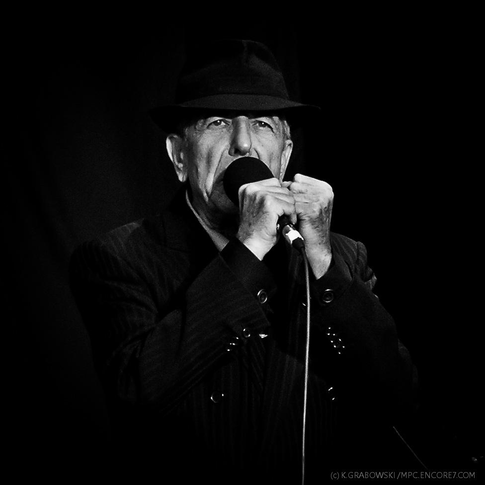 Leonard Cohen, Amsterdam '2008 (fot.: K.Grabowski)