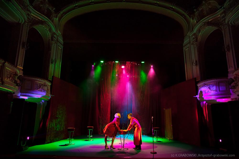 Teatr Polski BB, Randka z Sinatrą, fot. Krzysztof Grabowski