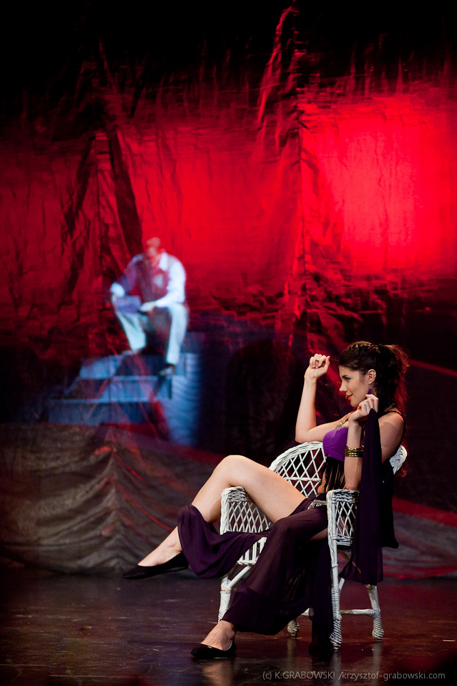 Teatr Polski BB, Zorba, fot. Krzysztof Grabowski