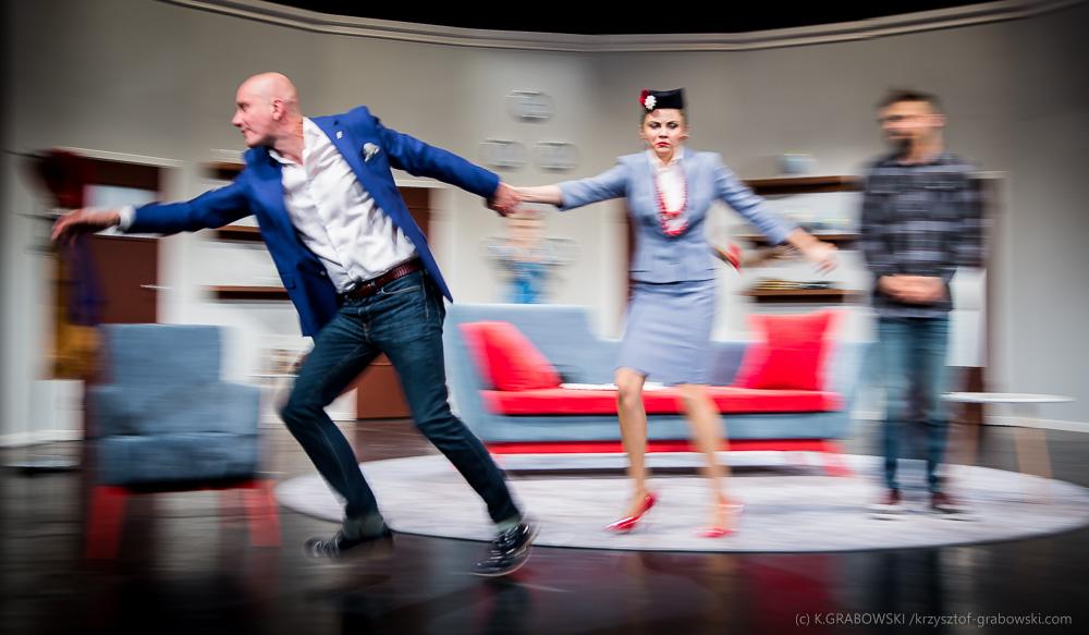 Teatr Polski BB, Boeing Boeing, fot. Krzysztof Grabowski