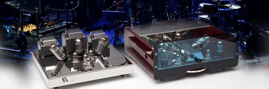 wzmacniacze lampowe stereo EGG-SHELL
